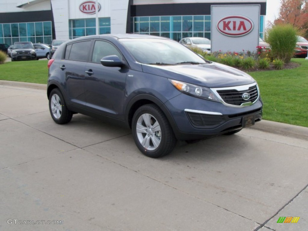 2012 twilight blue kia sportage lx awd 55101643 photo 8. Black Bedroom Furniture Sets. Home Design Ideas