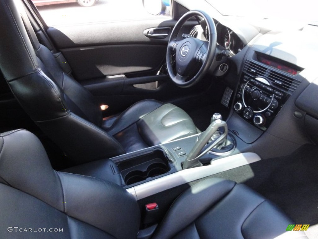 Black Interior 2006 Mazda RX-8 Standard RX-8 Model Photo #55136002 | GTCarLot.com