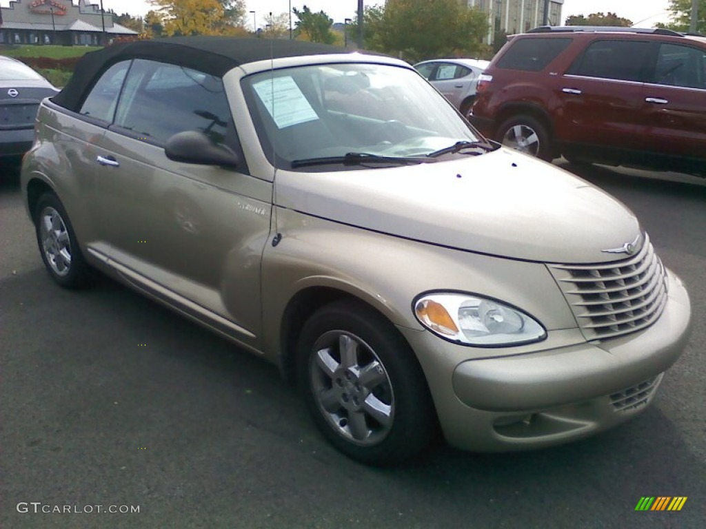 2005 linen gold metallic pearl chrysler pt cruiser touring. Black Bedroom Furniture Sets. Home Design Ideas