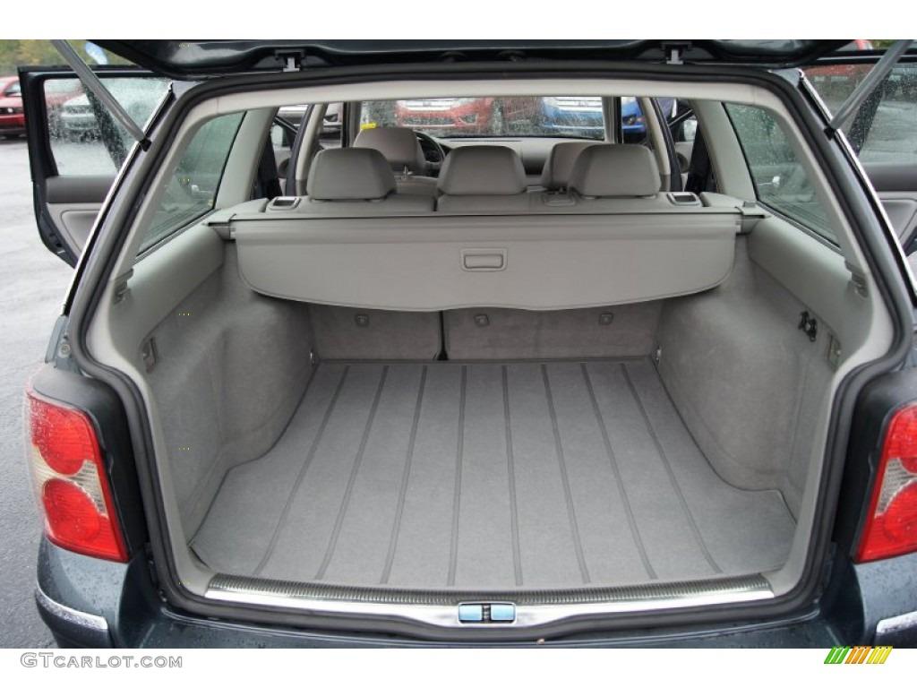 2002 Volkswagen Passat Gls Wagon Trunk Photo 55141980