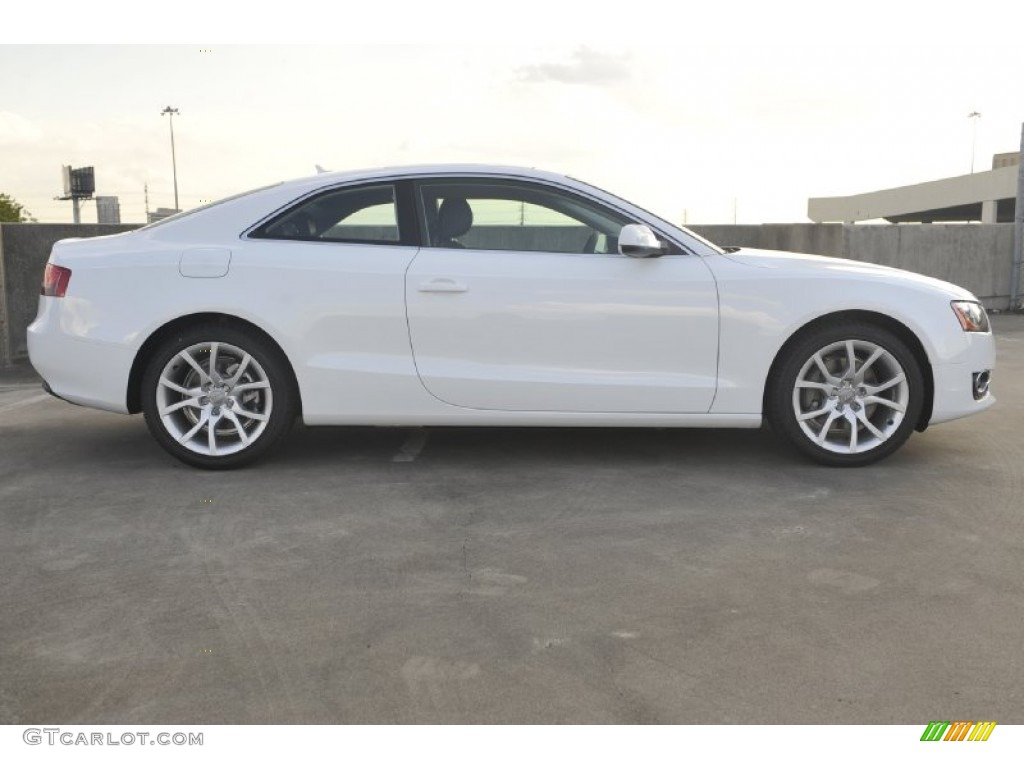 ibis white 2012 audi a5 2 0t quattro coupe exterior photo 55143383. Black Bedroom Furniture Sets. Home Design Ideas