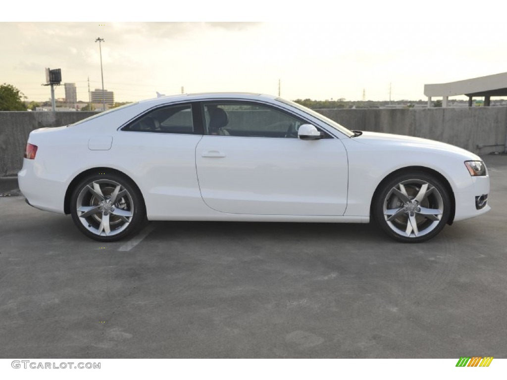 Ibis White 2012 Audi A5 2.0T quattro Coupe Exterior Photo ...