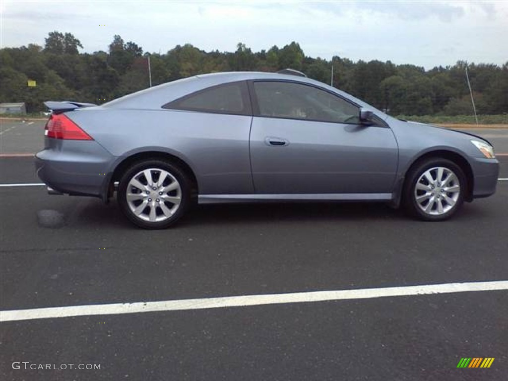 2006 Accord LX V6 Coupe   Cool Blue Metallic / Black Photo #17