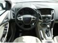 2012 White Platinum Tricoat Metallic Ford Focus SEL Sedan  photo #7