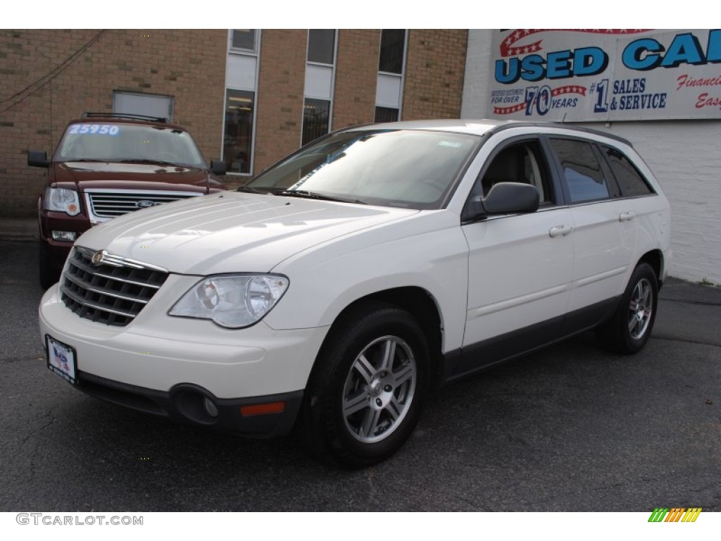 2008 stone white chrysler pacifica touring awd 55138660 car color galleries. Black Bedroom Furniture Sets. Home Design Ideas