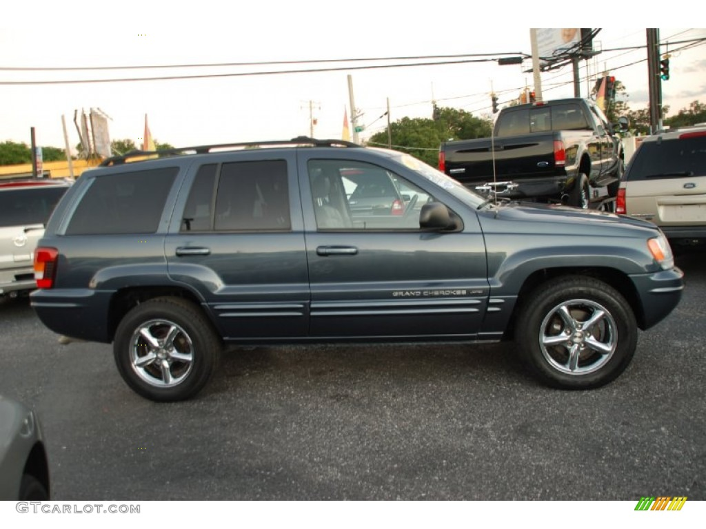 steel blue pearlcoat 2002 jeep grand cherokee limited exterior photo. Cars Review. Best American Auto & Cars Review