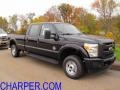 2012 Black Ford F250 Super Duty XL Crew Cab 4x4  photo #1