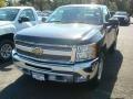 2012 Black Chevrolet Silverado 1500 LT Regular Cab 4x4  photo #1