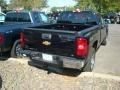 2012 Black Chevrolet Silverado 1500 LS Extended Cab 4x4  photo #2