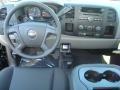 2012 Black Chevrolet Silverado 1500 LS Extended Cab 4x4  photo #4