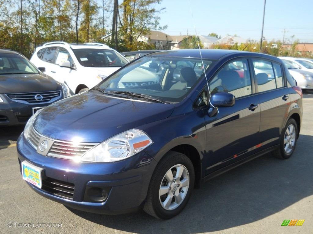 2009 Blue Onyx Nissan Versa 1 8 S Hatchback 55138596 Gtcarlot Com Car Color Galleries
