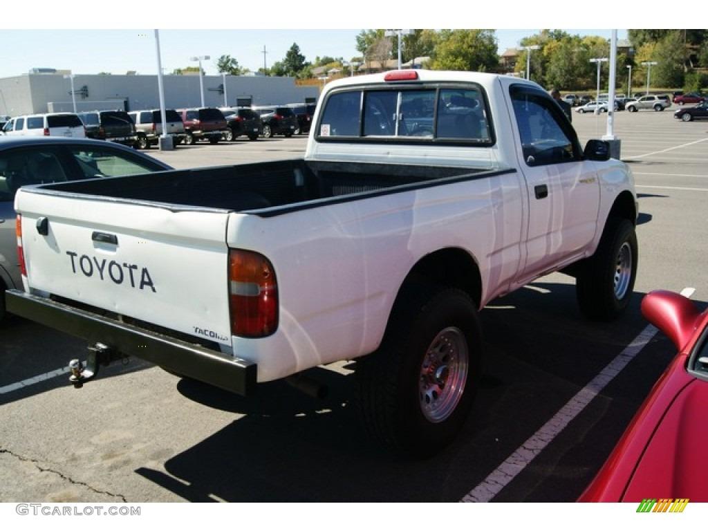 White 1996 Toyota Tacoma Regular Cab 4x4 Exterior Photo