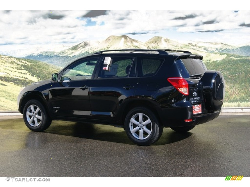 2008 Black Toyota Rav4 Limited 4wd 55137930 Photo 2