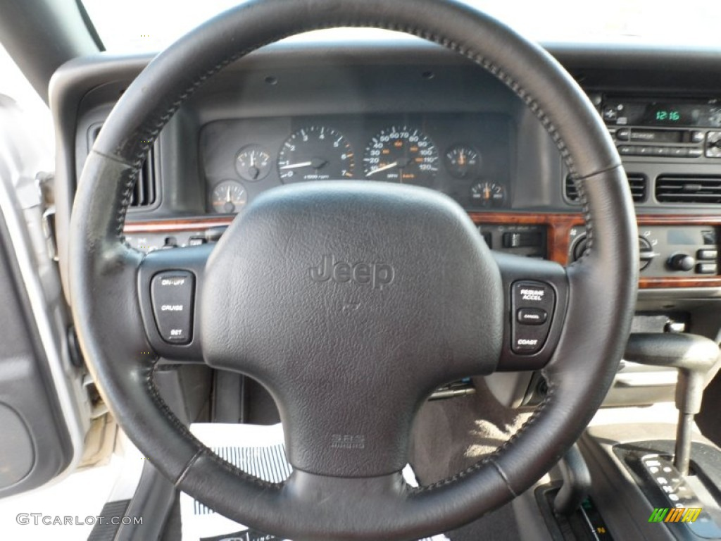 1998 jeep grand cherokee limited 4x4 steering wheel photos. Black Bedroom Furniture Sets. Home Design Ideas