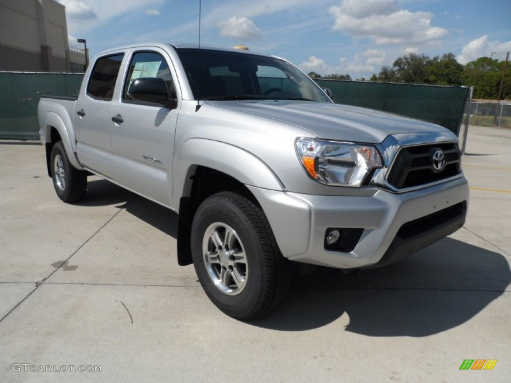 silver streak mica 2012 toyota tacoma v6 sr5 prerunner double cab exterior photo 55183869. Black Bedroom Furniture Sets. Home Design Ideas