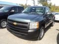 2012 Blue Granite Metallic Chevrolet Silverado 1500 Work Truck Regular Cab  photo #1