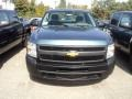 2012 Blue Granite Metallic Chevrolet Silverado 1500 Work Truck Regular Cab  photo #2