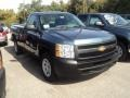 2012 Blue Granite Metallic Chevrolet Silverado 1500 Work Truck Regular Cab  photo #3