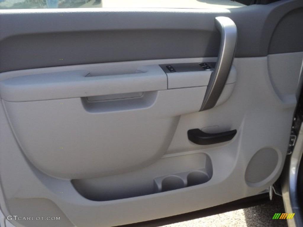 2012 Silverado 1500 LS Regular Cab - Silver Ice Metallic / Dark Titanium photo #6