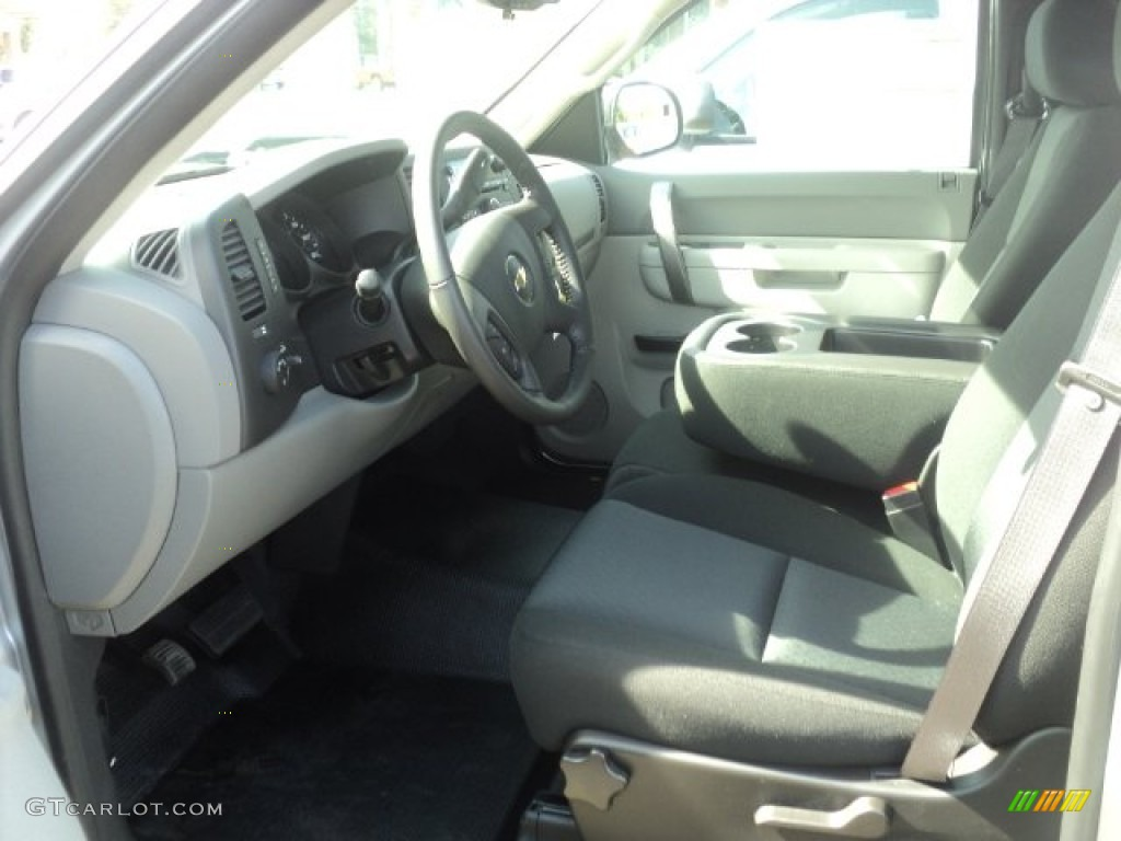 2012 Silverado 1500 LS Regular Cab - Silver Ice Metallic / Dark Titanium photo #7
