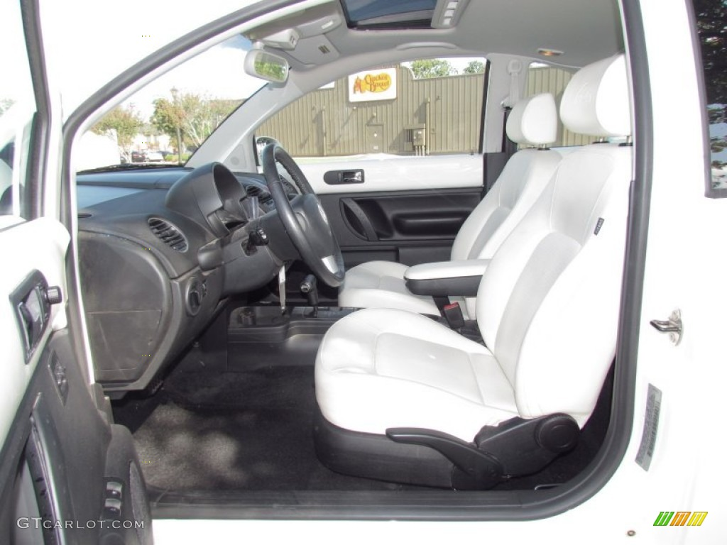 White Interior 2008 Volkswagen New Beetle Triple White Coupe Photo 55195185