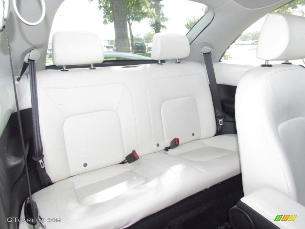White Interior 2008 Volkswagen New Beetle Triple White Coupe Photo 55195203