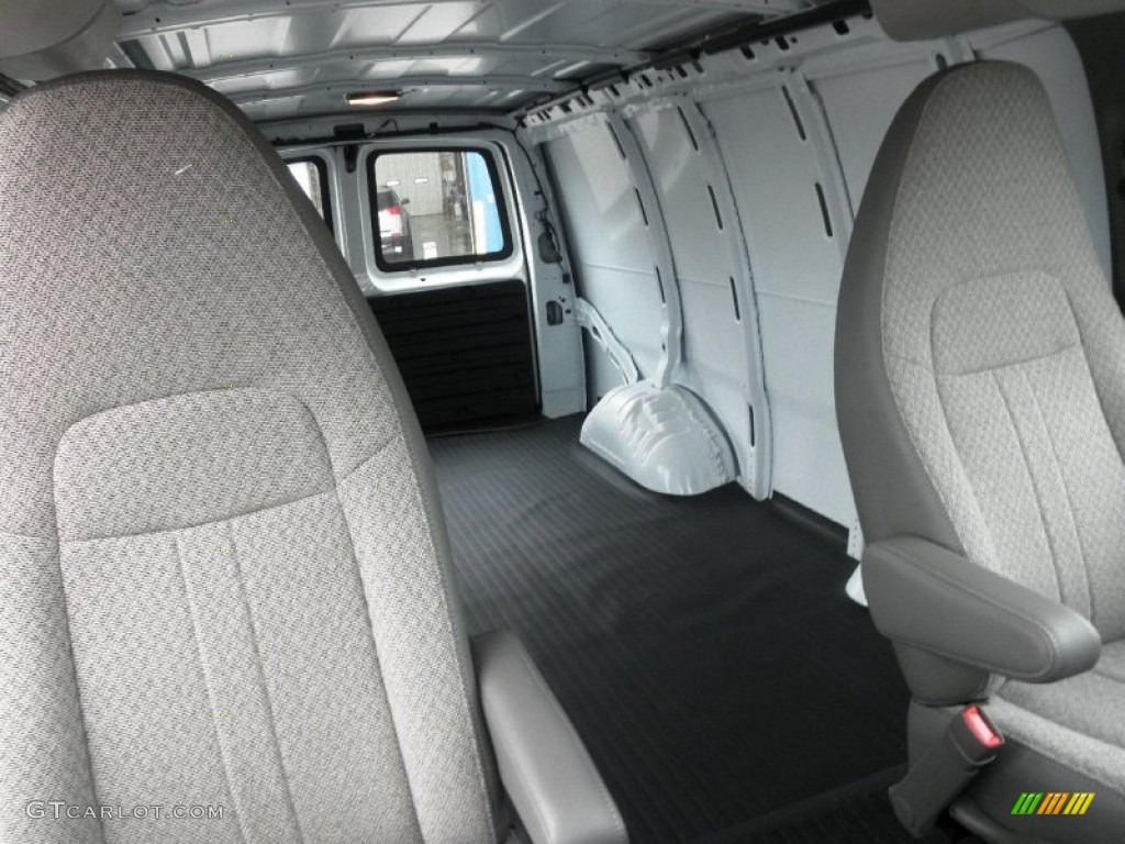2012 gmc savana van 2500 cargo interior photo 55195827