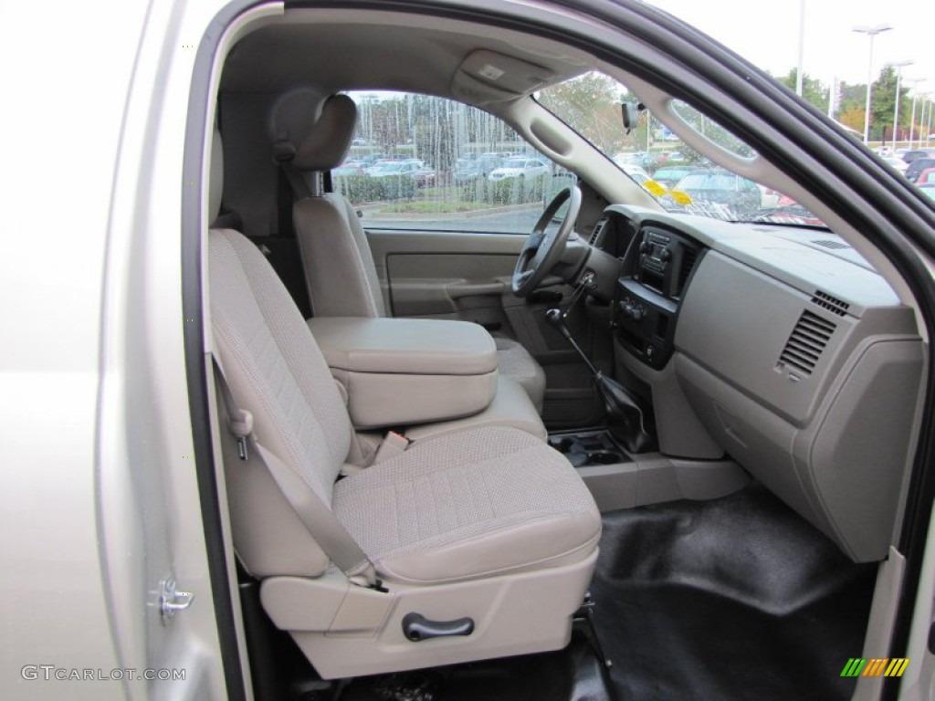 2008 Dodge Ram 1500 St Regular Cab Interior Photo 55196247