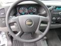 2011 Chevrolet Silverado 1500 Dark Titanium Interior Steering Wheel Photo