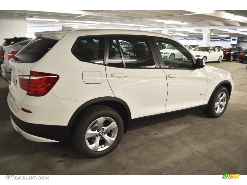Alpine White 2012 Bmw X3 Xdrive 28i Exterior Photo