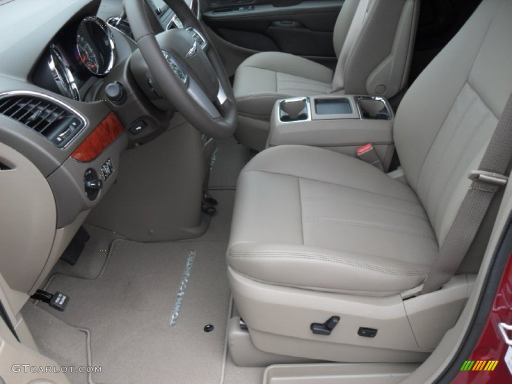Dark frost beige medium frost beige interior 2012 chrysler - 2001 chrysler town and country interior ...
