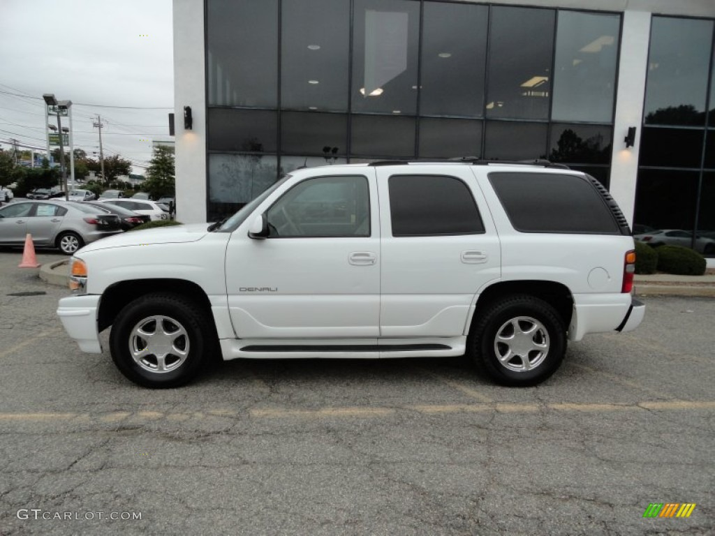 summit white 2002 gmc yukon denali awd exterior photo. Black Bedroom Furniture Sets. Home Design Ideas