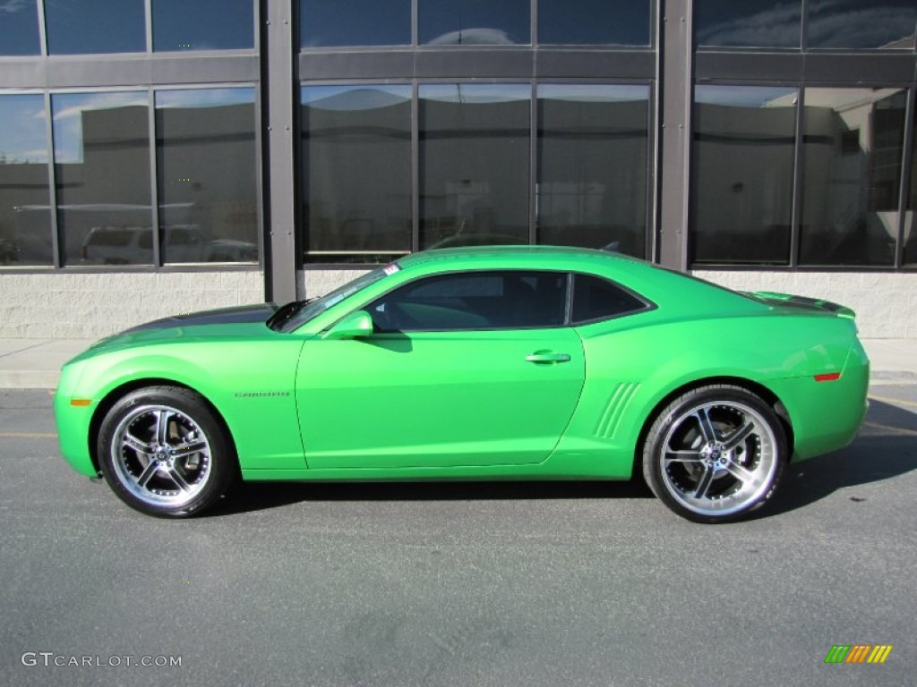 2010 Chevrolet Camaro LT Coupe Synergy Special Edition Custom Wheels Photos