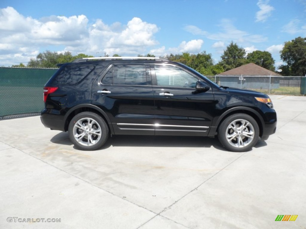 black 2012 ford explorer limited exterior photo 55222864 - Ford Explorer 2012 Black
