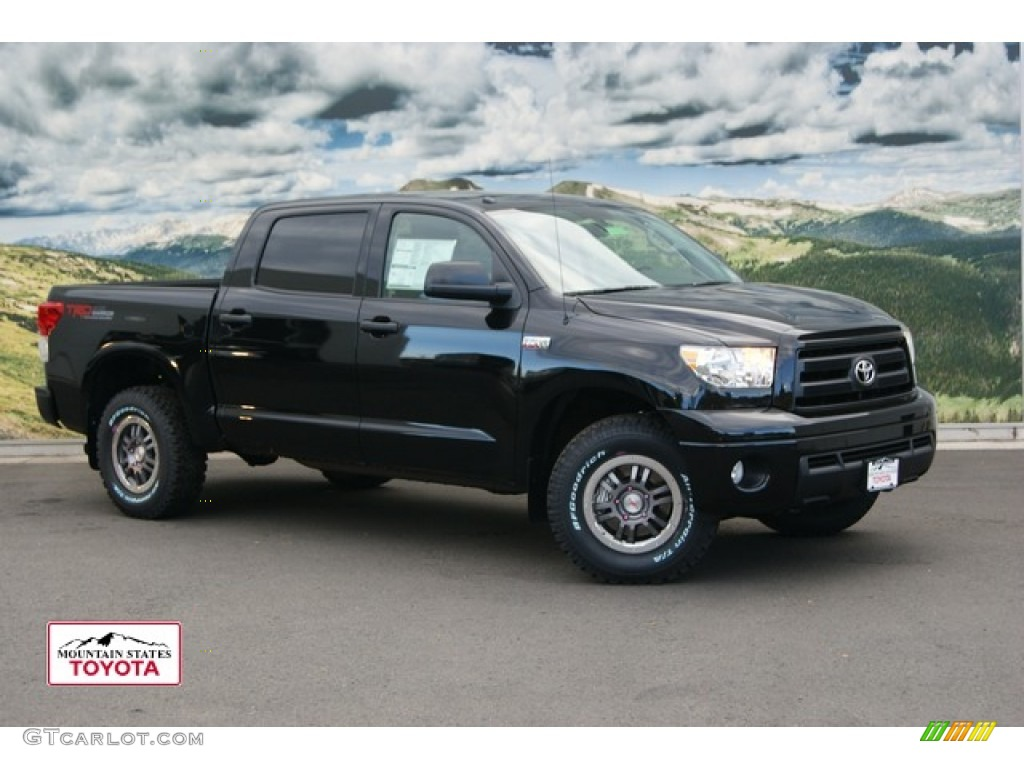 2012 black toyota tundra trd rock warrior crewmax 4x4. Black Bedroom Furniture Sets. Home Design Ideas