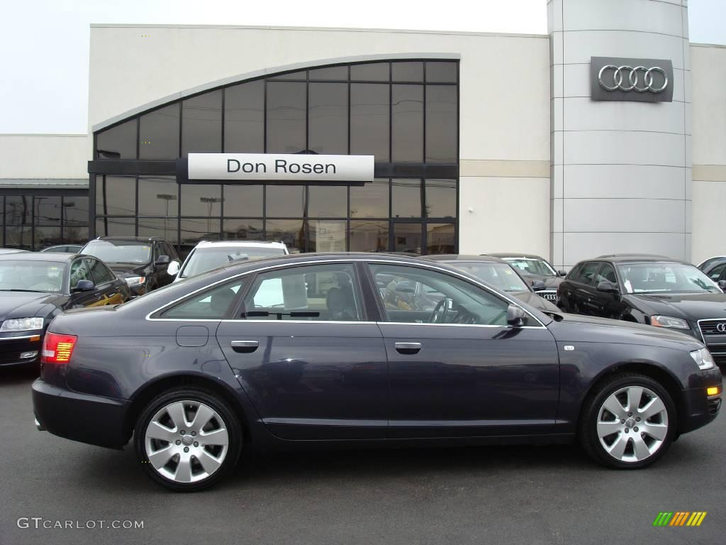 2006 oyster grey metallic audi a6 4 2 quattro sedan 5503242 car color galleries. Black Bedroom Furniture Sets. Home Design Ideas