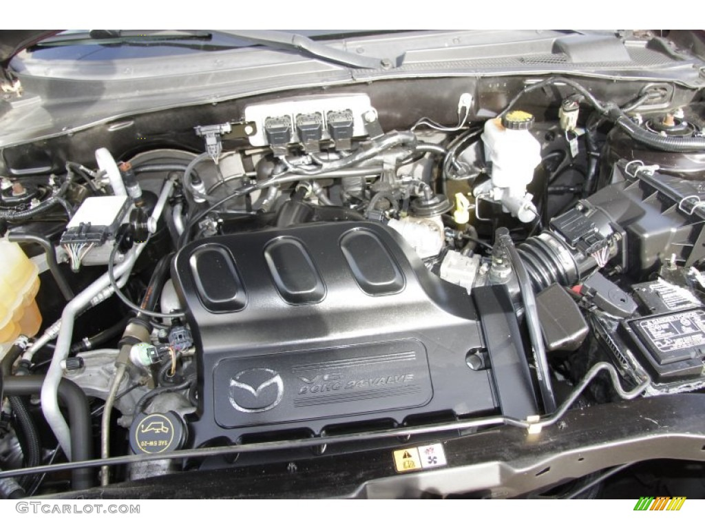 2006 Mazda Tribute S 3 0 Liter Dohc 24