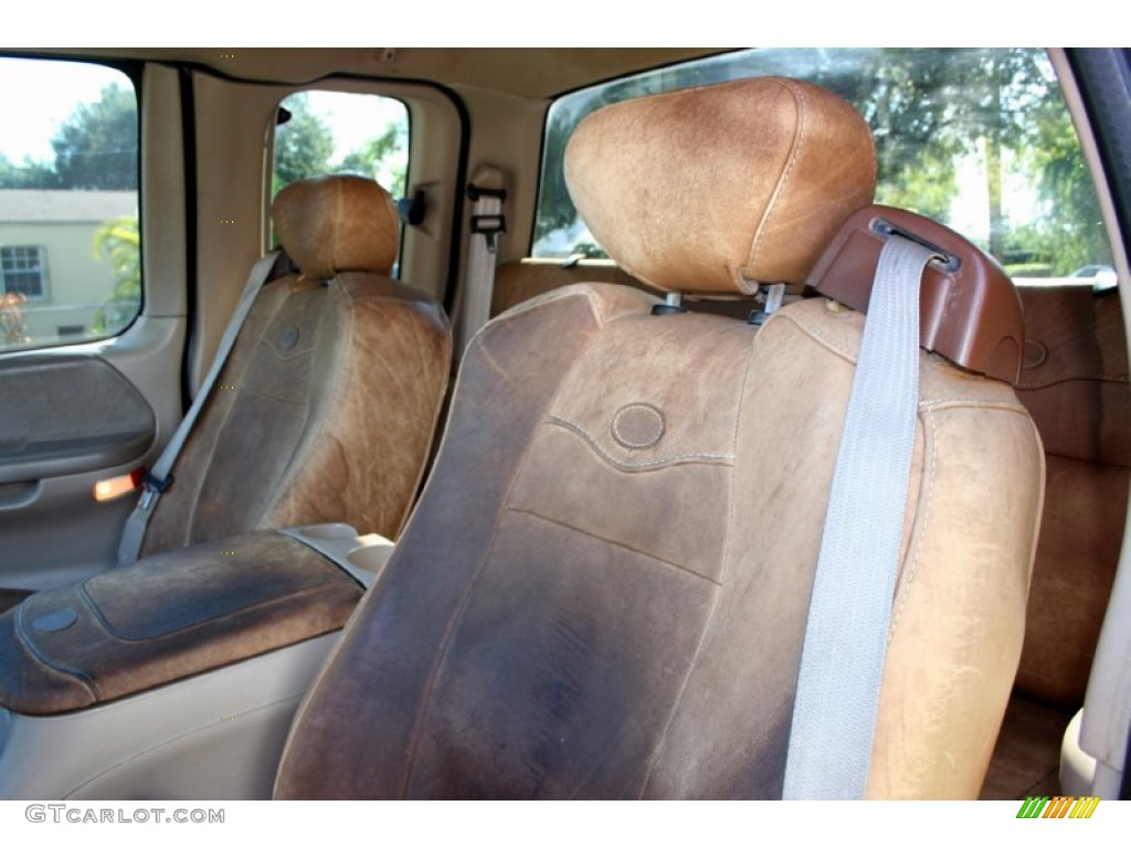 2003 Ford F150 King Ranch Supercab 4x4 Interior Photo 55231663