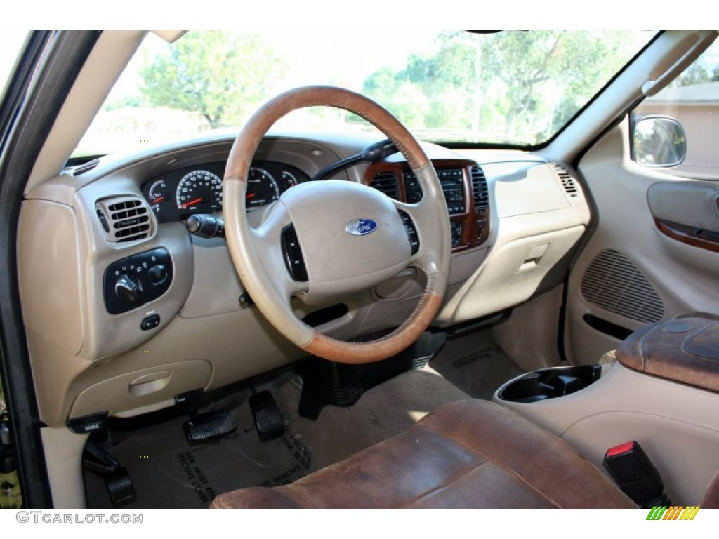 2003 Ford F150 King Ranch Supercab 4x4 Interior Color Photos