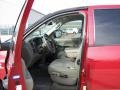 2008 Inferno Red Crystal Pearl Dodge Ram 3500 SLT Quad Cab 4x4  photo #3