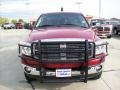 2008 Inferno Red Crystal Pearl Dodge Ram 3500 SLT Quad Cab 4x4  photo #16