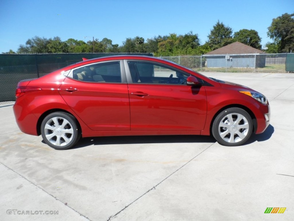 Red allure 2012 hyundai elantra limited exterior photo - 2012 hyundai elantra exterior colors ...