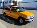 Fleet Yellow - F150 Regular Cab Photo No. 14