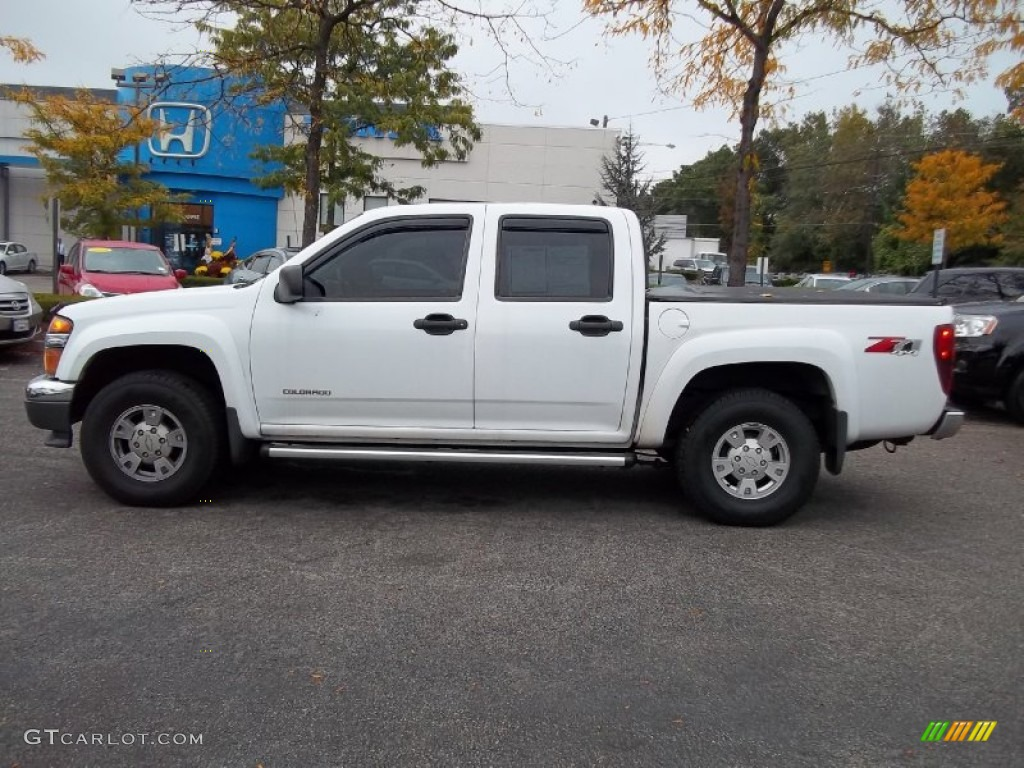 2005 summit white chevrolet colorado z71 crew cab 4x4 55236309 photo 18 car. Black Bedroom Furniture Sets. Home Design Ideas