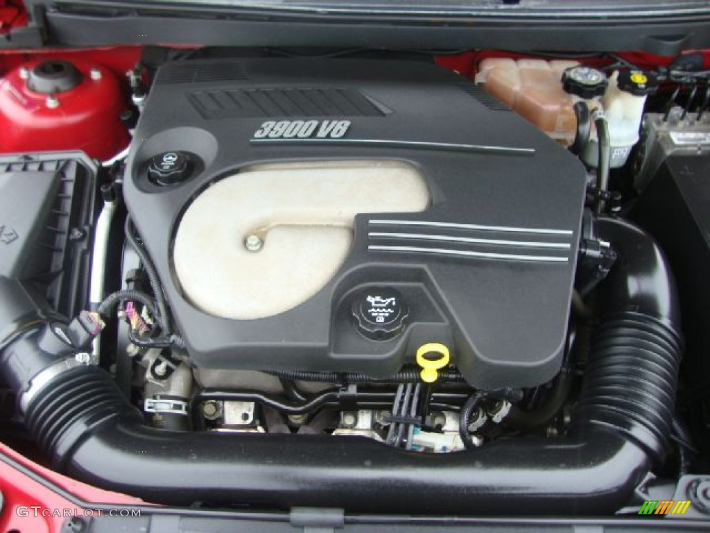 2006 Pontiac G6 Gtp Coupe 3 9 Liter Ohv 12 Valve Vvt V6 Engine Photo 55248091