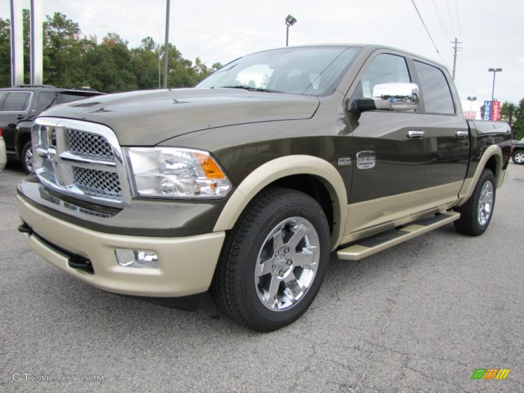 2012 sagebrush pearl dodge ram 1500 laramie longhorn crew cab 4x4 55235856 photo 3 gtcarlot. Black Bedroom Furniture Sets. Home Design Ideas