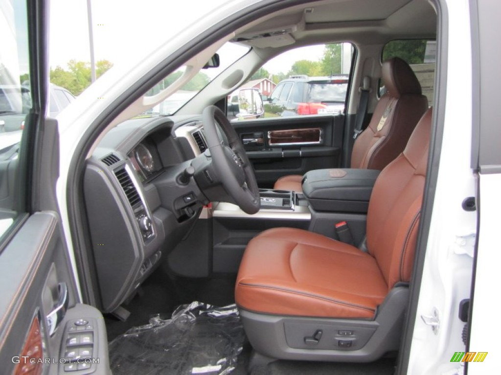 Dark Slate Gray Russet Interior 2012 Dodge Ram 1500 Laramie Longhorn Crew Cab 4x4 Photo