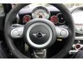 Checkered Carbon Black/Black Steering Wheel Photo for 2009 Mini Cooper #55253194