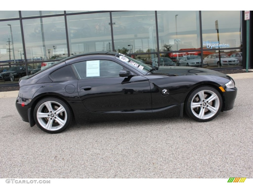 Jet Black 2008 Bmw Z4 3 0si Coupe Exterior Photo 55254292