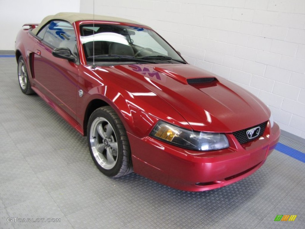 2004 redfire metallic ford mustang gt convertible. Black Bedroom Furniture Sets. Home Design Ideas